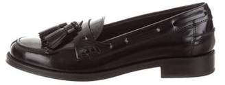 Tod's Leather Tasseled Loafers w/ Tags