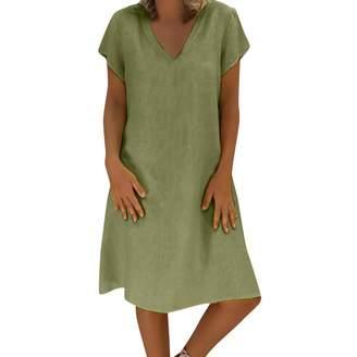 f531fb1ebfc Ladies Cotton Casual Dresses - ShopStyle Canada