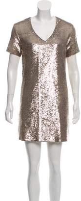 IRO Sequined Mini Dress