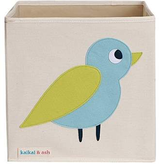 Ash KaiKai & , Large Canvas Storage Box, Basket and Bin, Nursery and Toy Organizer