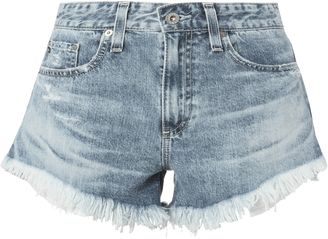 AG Sadie Cut Off Shorts $158 thestylecure.com