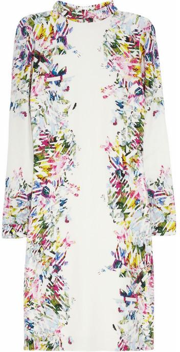 Erdem Felicia printed silk dress