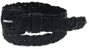 Fashion Focus Braided Leather Belt