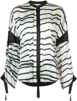 Kimora Lee Simmons Eden drawstring shirt
