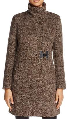 Via Spiga Side Tab Coat