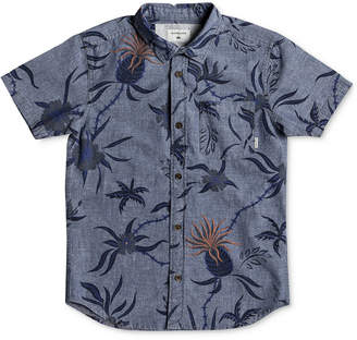 Quiksilver Shakka Mate Cotton Shirt, Big Boys