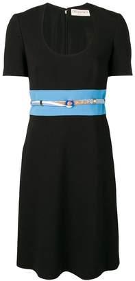 Emilio Pucci scoop neck dress
