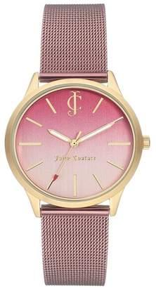 Juicy Couture Women's Ombre Mesh Bracelet Watch, 36mm