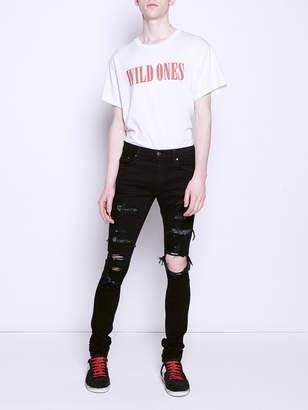 Amiri Black crystal jeans