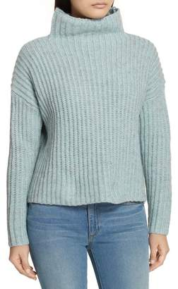 Rebecca Taylor Ribbed Turtleneck Sweater