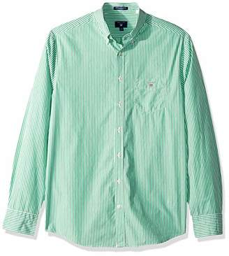 Gant Men's The Broadcloth Banker Stripe Regular Fit Button Down Shirt
