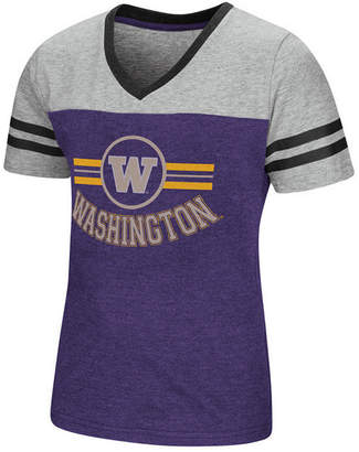 Colosseum Washington Huskies Pee Wee T-Shirt, Girls (4-16)