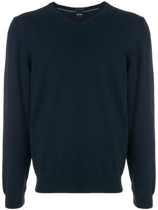 HUGO BOSS classic fitted sweater