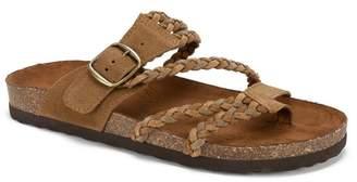 White Mountain Helena Braided Footbed Sandal