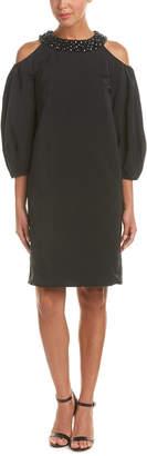 Escada Cold-Shoulder Dress