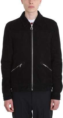 Lanvin Black Suede Jacket