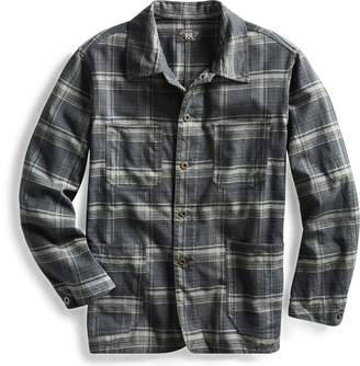 Ralph Lauren Plaid Cotton Shirt Jacket