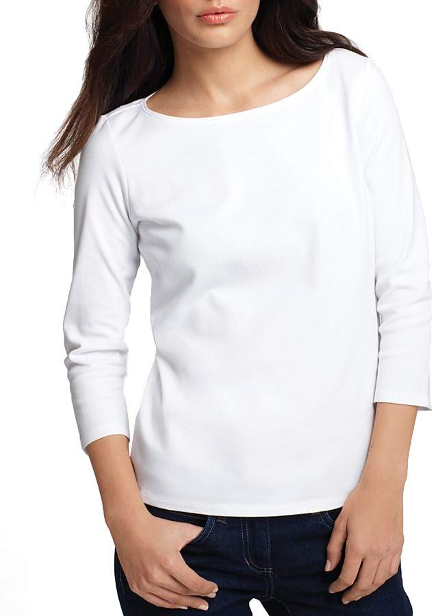 Eileen Fisher Ballet Neck Tee