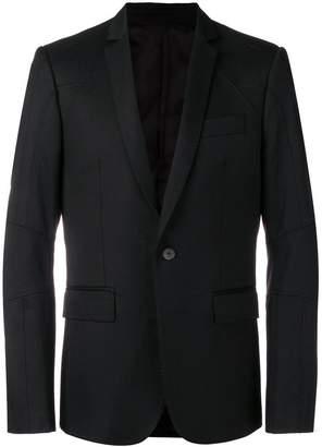 Les Hommes classic-cut blazer