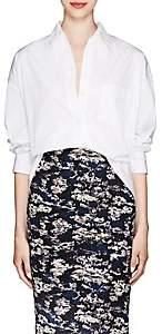 Victoria Beckham Women's Cotton Poplin Oversized Blouse - White