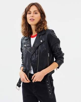 Wrangler Sonic Leather Jacket