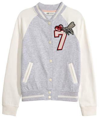 H&M Baseball Jacket - Gray