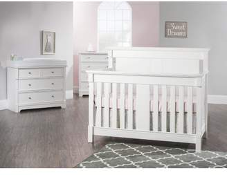 Child Craft Bradford 4-in-1 Convertible 5 Piece Crib Set