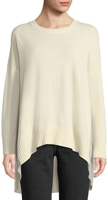 Eileen Fisher Lofty Cashmere Oversized Sweater