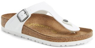 Women's Birkenstock 'Gizeh' Birko-Flor Thong Sandal $94.95 thestylecure.com