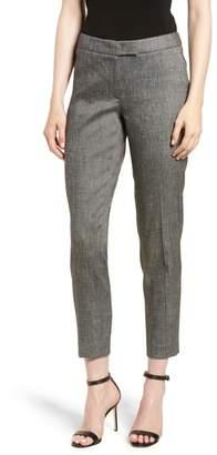 Anne Klein Linen Blend Slim Suit Pants