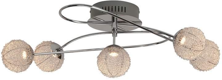 EEK A+, LED-Deckenleuchte Dajana 5-flammig