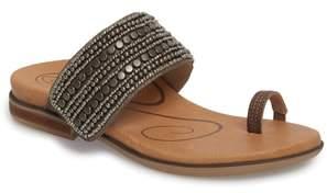 Aetrex Layla Embellished Slide Sandal