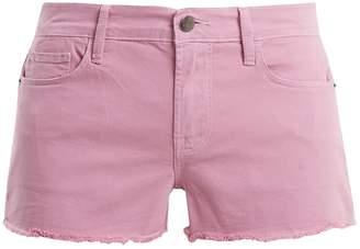 Frame Le Cutoff cotton-blend shorts
