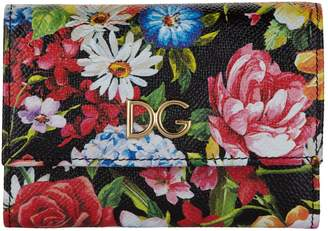 Dolce & Gabbana Leather French Flap Wallet