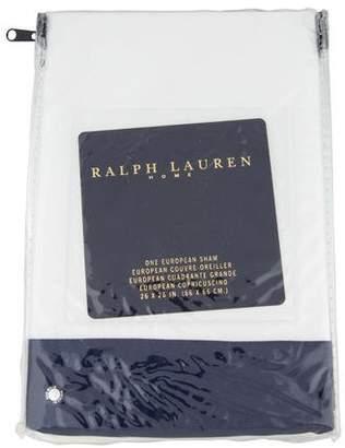 Ralph Lauren Fulton European Pillow Sham w/ Tags