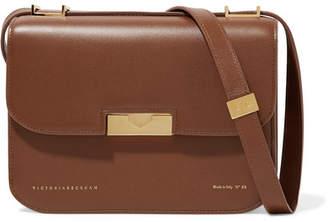 Victoria Beckham Eva Leather Shoulder Bag - Brown
