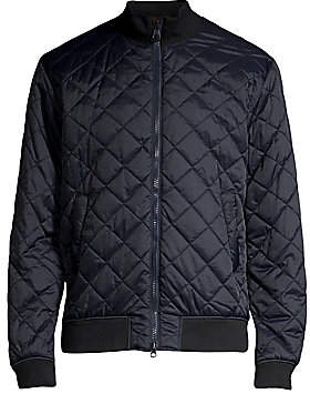 Barbour Men's Nautical Blotter Quilted Bomber