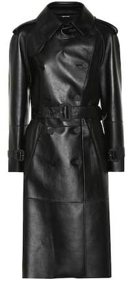 Maison Margiela Faux leather trench coat