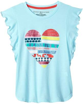 Tommy Hilfiger Heart Tee Girl's T Shirt