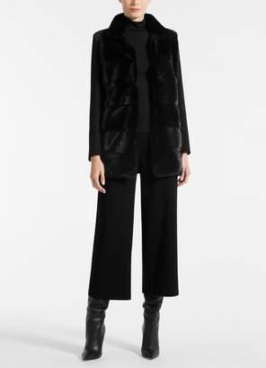 St. John Loro Piana Double Face Cashmere Coat