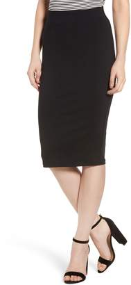 David Lerner Tube High Rise Pencil Skirt