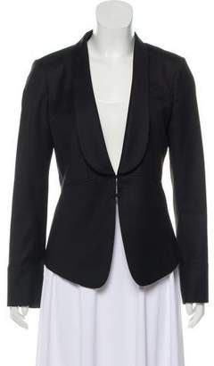 Tory Burch Wool-Blend Long Sleeve Blazer