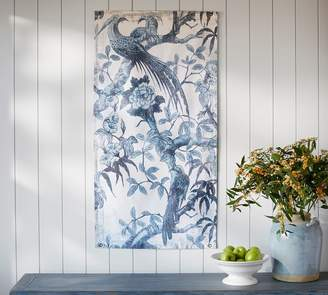 Pottery Barn Wall Hanging Canvas - Blue Bird