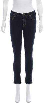 Tomas Maier Mid-Rise Skinny Jeans