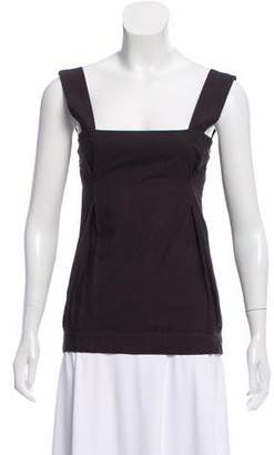 Marni Sleeveless Square Neck Top