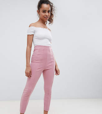 Asos DESIGN Petite skinny PANTS with super high waist