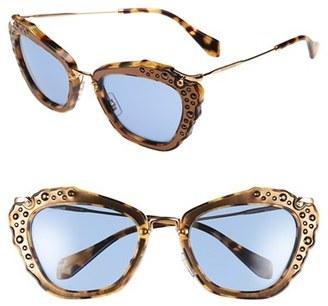 Miu Miu 55mm Sunglasses $520 thestylecure.com