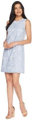 CeCe Sleeveless Lace Sheath Dress Women's Dress