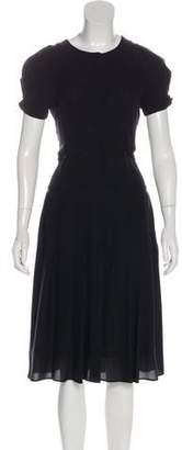Viktor & Rolf Silk Pleated Dress w/ Tags