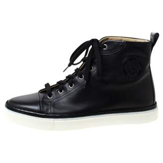 Hermes Black Leather Trainers